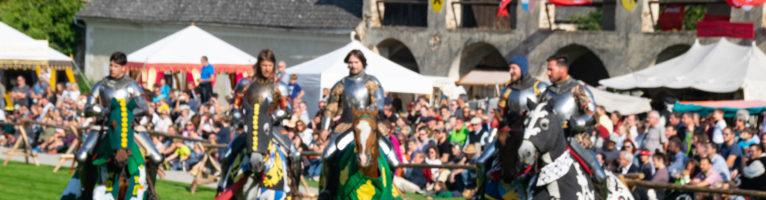Ritterfest auf der Rosenburg